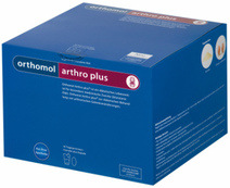 Orthomol Arthro Plus (Ортомол Артро Плюс) для спортсменов